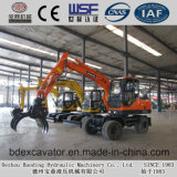Excavador Bd80 de la rueda de la cargadora de la caña de azúcar de Shandong