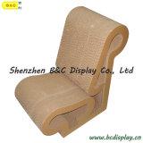 SGS (B&C-F011)が付いている卸し売りペーパー椅子/ボール紙の腰掛け/ボール紙の家具