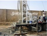 진흙 펌프 또는 공기 압축기와 함께 사용되는 Dfc-200 트럭 시추공 드릴링 기계