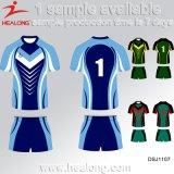 Healong beste Sublimation-Team-Rugby-Jersey-Uniform der Entwurfs-Sportkleidung-3D