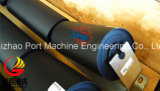 Rouleau de convoyeur à bande de CEMA de SPD, positionnement de rouleau de cuvette, rouleau en acier