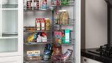 Porta de PVC barato armário de cozinha modernos de alta qualidade (xs-001)