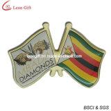 Pinos personalizados do Lapel da bandeira de país da impressão