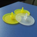 Válvula unidirecional de silicone de borracha de elastômero
