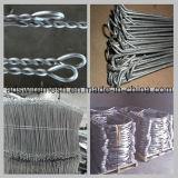 電流を通されたLoop Tie WireかBinding Wire/Bailing Wire