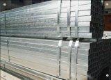 Tubo de acero cuadrado galvanizado tubo del hierro de la INMERSIÓN caliente