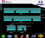 Bouwmaterialen/de Lichte Structuur van het Staal Geprefabriceerde Carport, Pakhuis, Workshop (pH-58)