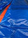 PE Bâche Rouleau, Rouleau de toile de bâche en plastique orange