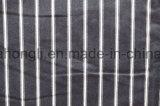 Tela teñida hilado del poliester del algodón, tela rayada para la ropa, 55%Cotton 42%Polyester 3%Spandex, 250g/Sm
