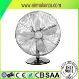 Ventilatore da tavolo elettrico da 12 pollici con oscillazione con Ce/Rosh/GS/SAA