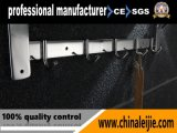 Accessoire de luxe de salle de bains de crémaillère d'essuie-main d'acier inoxydable de qualité