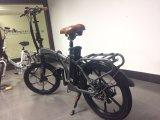"""세륨 20 """" 리튬 건전지를 가진 전기 자전거를 접히는 고속 도시"""