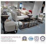 Mobília moderna do restaurante da estrela com a poltrona da madeira contínua (FC-01)