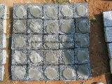 Openlucht Granite&Basalt Getuimelde Cobble/Kubus/Kubieke Straatsteen op Netwerk