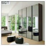 Hete Verkoop dubbel-Onder ogen gezien Draagbare Kosmetische Spiegel