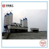 Stationaire Concrete het Groeperen Concrete het Mengen zich van de Capaciteit van de Installatie 75cbm/Hour Installatie