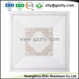 Огнеупорные звуковой ролик покрытие печать алюминиевой панели потолка с ISO9001