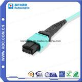 3,0 mm mini Cable con conector de fibra óptica de MPO