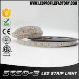 110 volts luz de tira do diodo emissor de luz de 120 volts, tira do diodo emissor de luz da tira 14.4W/M da luz do diodo emissor de luz da C.C. 12V