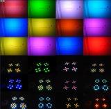 48LEDs 1W RGB 4 눈 경청자 빛 LED 세척 빛