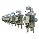 Filtrazione industriale di scarico automatica dell'acqua con controllo di pressione differenziale (YLXS)