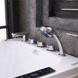 Vasca da bagno calda di massaggio indipendente acrilico europeo della stanza da bagno (BNG5001)
