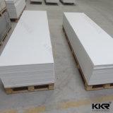 Reiner weißer künstlicher Marmorsteinfester acrylsauerlageplan