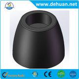 Schwarze Strichleiter-Gummifüße im Haushalts-Gummi-Lieferanten