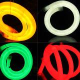 2835 24V 360 degrés de lumineux aucune lumière de bande flexible circulaire foncée du néon DEL de l'endroit 16mm