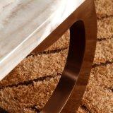Tavolino da salotto del quadrato dell'acciaio inossidabile (LC2030)