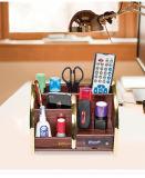 Supporto multifunzionale di legno di memoria per uso dell'ufficio e della casa
