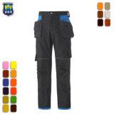 Heavy Duty Mens travail pantalon cargo pantalon de travail