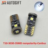 Ampoules lumineuses supérieures de 3SMD 3030 T10 Canbus