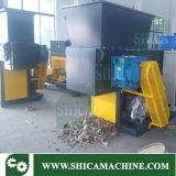 Plastica residua delle doppie aste cilindriche durevoli che ricicla le trinciatrici