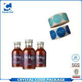 Ausgezeichnete Qualitätsgewürz-Flasche beschriftet Aufkleber