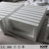 Европейский дизайн современный белый камень мраморная ванная комната и туалетные бассейнов