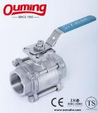 3 ПК шаровой клапан из нержавеющей стали с высоким монтажная подкладка