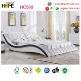 승진 (HC568)를 위한 백색 현대 가죽 침대