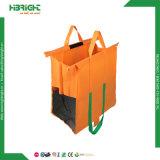 4 Supermarkt-Laufkatze-Beutel-Lebensmittelgeschäft-Einkaufstasche