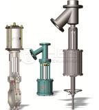 Пневматический клапан заслонки/двойной пневматический привод