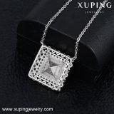 43107 Beste Kristallen Xuping van de Halsband van de Tegenhanger van de Klok Swarovski voor de Gift van Vrouwen