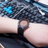 Bamboo  Wooden  Watch  가죽끈 석영 운동 Casual&#160로; 시계