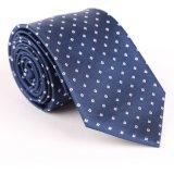 La qualité des hommes 100% cravates tissées de soie/polyester (1209-19)