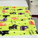 Шарж напечатал ход полиэфира рождества одеяла младенца фланели