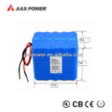 7.4V 6600mAh 6.6ah nachladbarer 18650 Lithium Li-Ionbatterie-Satz