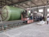 GRP FRPのガラス繊維のHorizonalの容器およびタンク巻上げ機械