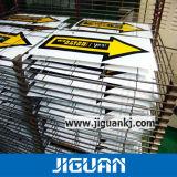 Qualitäts-wetterfester gelber Antisonnenschein-beständiger Vinylaufkleber