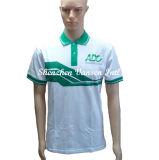 Custom печать Хлопок рубашки поло с вышивкой логотипа