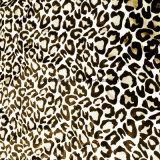 Tessuto della pelle della pesca del poliestere con W/R che &Printing per il cappotto