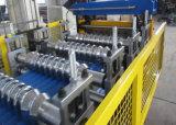 Telhas Onduladas máquina de formação de rolos de perfil de folhas com PLC Panasonic